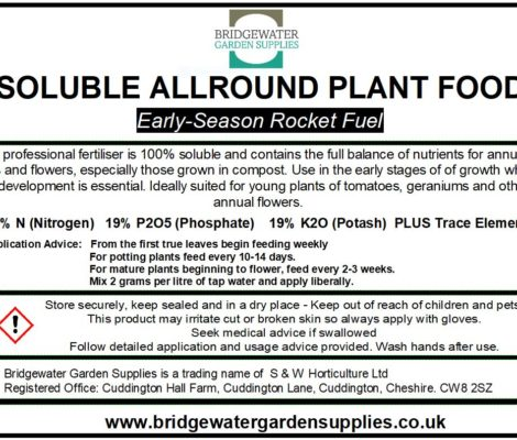 Soluble Allround Plant Food-379
